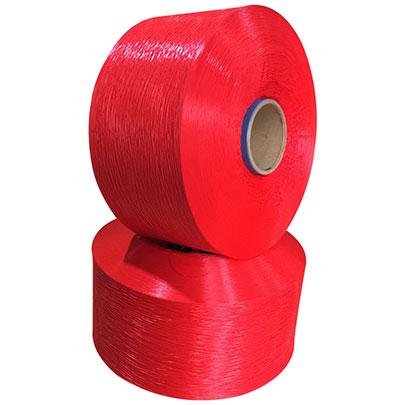 PP Fibrilliated Yarn Red Color
